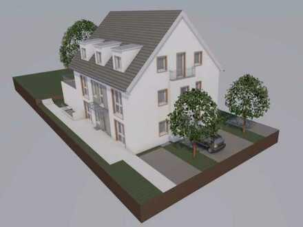 Erstbezug mit Terrasse und Garten : Exklusive 4-Zimmer-Erdgeschosswohnung in Bensheim
