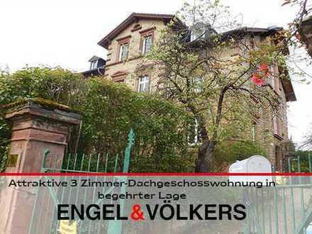Attraktive 3 Zimmer - Dachgeschosswohnung in begehrter Lage
