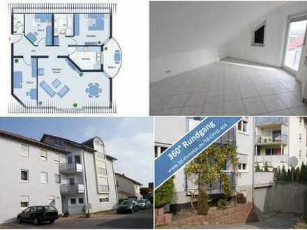 PROVISIONSFREI -Tolle Wohnung mit viel Platz und Garagenstellplatz