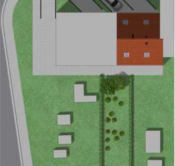 Erdgeschosswohnung mit Gartenanteil und Stellplatz
