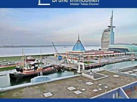 BRUNE IMMOBILIEN - Bremerhaven-Mitte: Nicht nur dabei, sondern mittendrin...