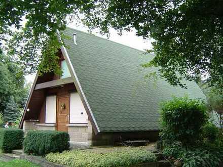 Nurdachhaus / Finnenhaus in Schönwalde - Glien