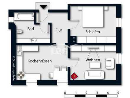 Attraktive Zweizimmerwohnung in zentrumsnaher Lage von Amberg - sofort beziehbar!