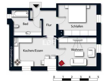Attraktive 2-Zimmerwohnung in zentrumsnaher Lage von Amberg - sofort beziehbar!