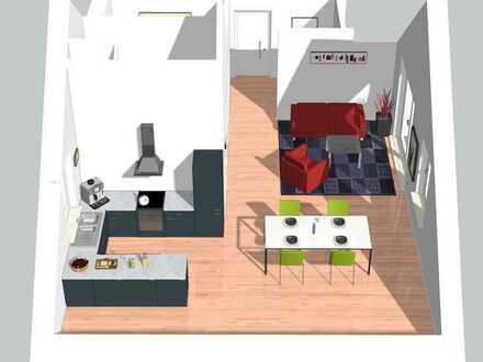 Moderne 2 Zimmer Dachgeschosswohnung