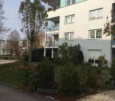 Helle 3-Zimmer-Wohnung mit Balkon und EBK in Neu-Ulm's Top-Lage