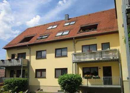 In idyllischer Lage: 3-Raumwohnung im Chemnitzer Umland