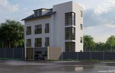 Neubau - 3-Zimmer-Penthouse-Wohnung mit Balkon, Stellplatz und Aufzug