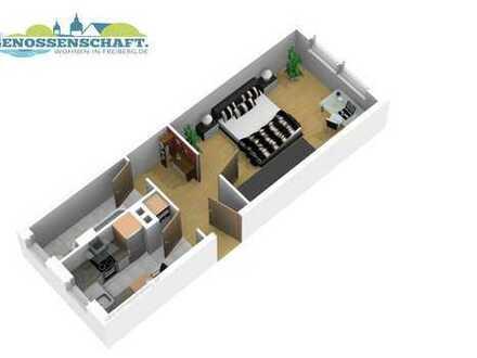 1-Raum-Wohnung für große Träume