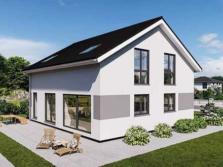 Zwei Häuser bauen und nur eins selber bezahlen - Doppelhaus auf vorhandenen Grundstück - massiv