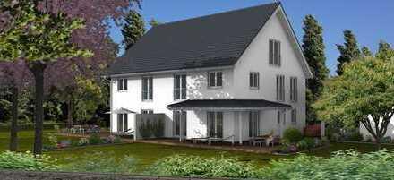 Familienfreundlicher Doppelhaus-Neubau in Geretsried