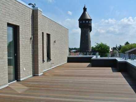 ein Juwel im Zentrum von Heide * 2,5-Zi-Penthouse-Wohnung mit imposanter 50 m² Dachterrasse