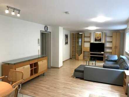2-Zimmer-Souterrain-Wohnung mit Terrasse und Einbauküche in Langenargen