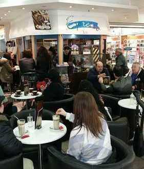 Espresso Bar im Einkaufscenter in hervorragender Lage zu verkaufen