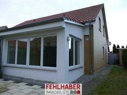 Gepflegte Doppelhaushälfte mit Wintergarten und 2 Bädern zentral in Greifswald