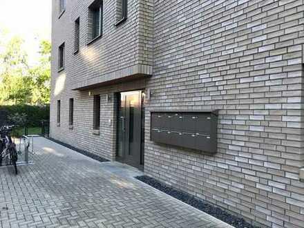 2 Zi. Neubauwohnung mit großer Terrasse und Gartennutzung