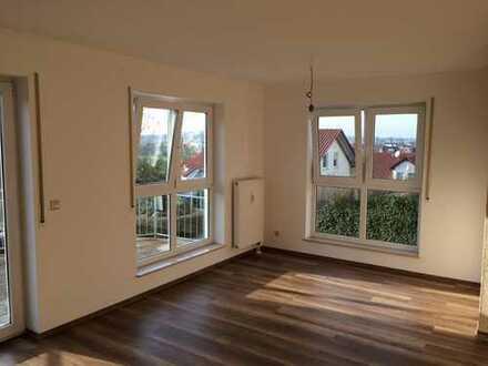 Attraktive 3,5-Zimmer-Wohnung mit Balkon und Blick auf den Bussen in Uttenweiler