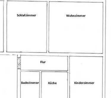 Sanierte 3-Zimmer-Wohnung mit Balkon