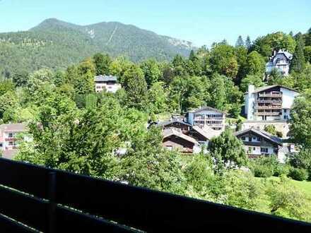 Ruhige 2-Zimmer Wohnung mit Bergblick
