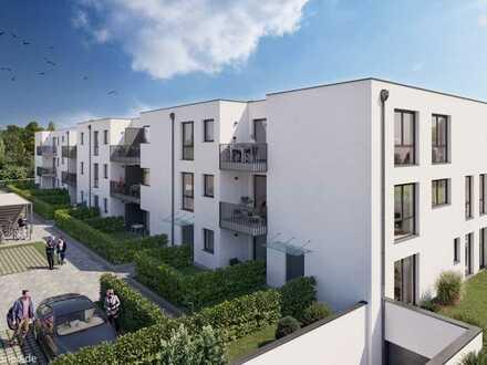 NEUBAU Tolle 2-Zimmer Wohnung mit 2 Terrassen und Garten - KFW55