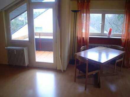 Aichwald-Schanbach. Atelierzimmer, Teilmöbliert