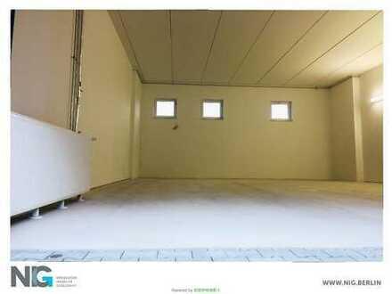 Hallenflächen an der AVUS | + Büros | NEUBAU
