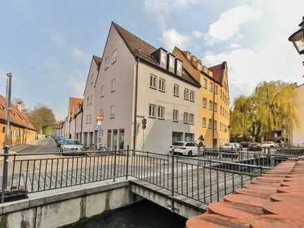 Gelegenheit: 2 ZKB mit Einzelgarage im Augsburger Zentrum zwischen Fuggerei und City-Galerie