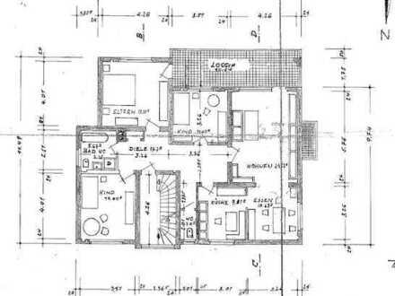 Erstbezug nach Sanierung: Sehr helle 4-Zimmer-Wohnung mit Einbauküche und Balkon in Sandhausen