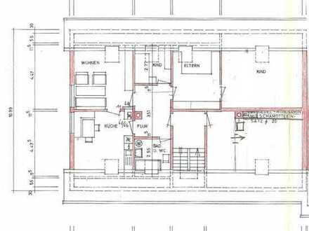 3,5 Zi Dachgeschosswohnung in schöner Lage auf dem Sulgen