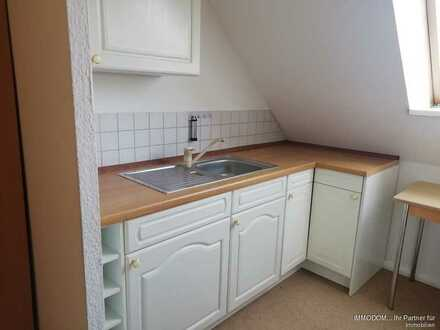 Teilmöbilierte 1-Zi. Wohnung in Kirchberg/Sa. zu vermieten!