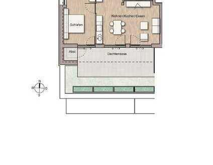 Sonnige Penthous-Wohnung (Whg. 15)