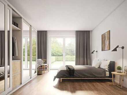 Gemütliche 2-Zimmer-Erdgeschosswohnung mit moderner Ausstattung & Terrasse in ruhiger Lage
