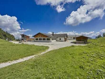 """BERGGASTHOF """"HOCHALM"""" GRAINAU  - zentral im Ski-und Wandergebiet an der Bergstation Hochalmbahn"""
