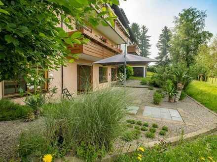 Großzügige Gartenwohnung im Grüngürtel von Lindau