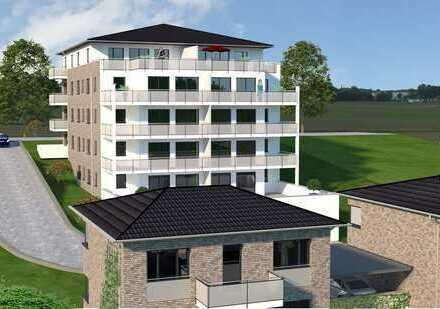Baubeginn erfolgt, Parkblick, 143 qm, große Terrasse, Fahrstuhl und Tiefgaragenstellplatz