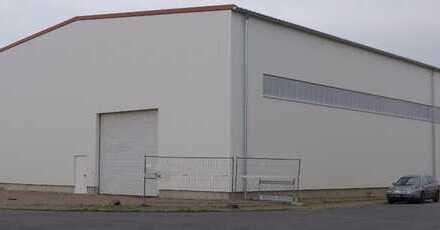 Lagerhalle in Biebesheim, Neubau