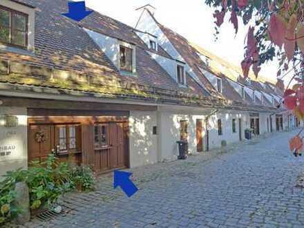 Altstadthaus im ehemaligen Salzstadel im Zentrum von Landsberg von Toni te Best Immobilien