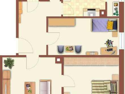 3-Zimmer-Wohnung Mühlacker im Zentrum