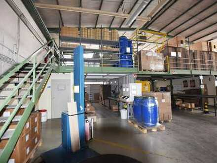 *Provisionsfrei* Ebenerdige Produktionshalle mit Lagerfläche und Büroräumen