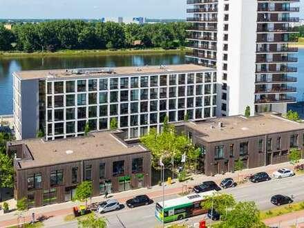 87,40 qm Ladenloft in der *Großen Kiste*, Überseestadt Bremen