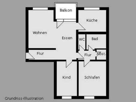 Freie 3½-Zimmer-Eigentumswohnung in ruhiger Wohnlage!