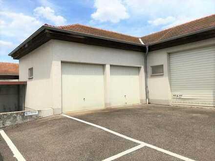 Einzel- oder Doppelgarage im Ortszentrum von Schwetzingen zu vermieten