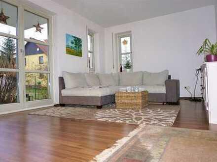 Attraktive 2-Raum-Wohnung mit Terrasse in Dresden-Mobschatz