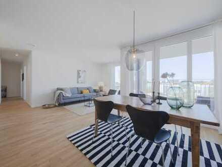 NEUBAU 3-Zimmer-Wohnung + Loggia und TOP Infrastruktur + Dachgarten zur Mitbenutzung +