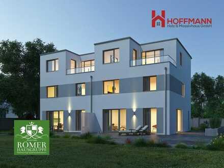 """nach Abriss: 2 top """"Römer""""-DHH, KFW55, 120m2, top Grundstück - Einzug 9 Monate"""