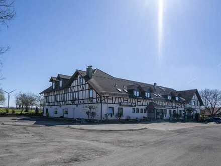 Idyllisches Hotel im Landhausstil