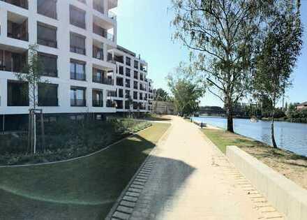 Moderne 2 Raum Wohnung - mit SONNEN-Terrasse und Blick auf die Spree