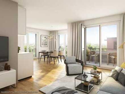 ***Die Elegante*** Kompakte 1,5-Zimmer-Wohnung mit sonniger Südterrasse