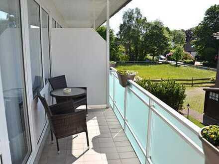 Neu gestaltete Obergeschosswohnung mit gr. Südloggia und moderner Einbauküche in Bad Zwischenahn