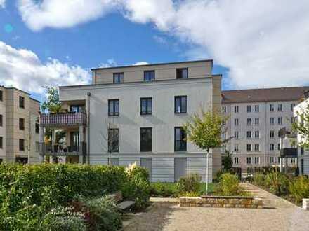 Nähe Großer Garten: Westbalkon + Tiefgarage
